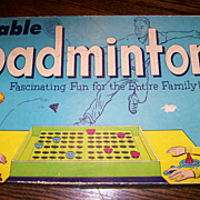 Vintage Table Badminton