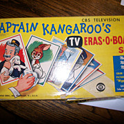 Captain Kangaroo TV Eraso-Board