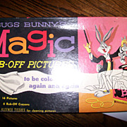 Bugs Bunny's Magic Rub-Off Pictures