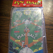 """Play Ball"" Miniature pinball baseball game"