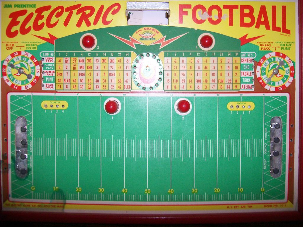 Jim Prentice Electric Football