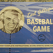 Earl Gillespi Baseball Game