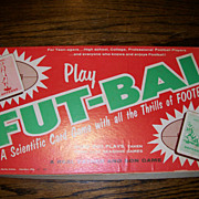 Fut - Bal card game