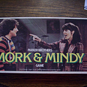 Mork and Mindy Board Game