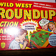 Wild West Round Up  Action game
