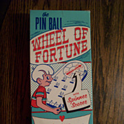 Pin Ball Wheel of Fortune