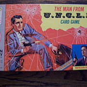 Man from Uncle card game