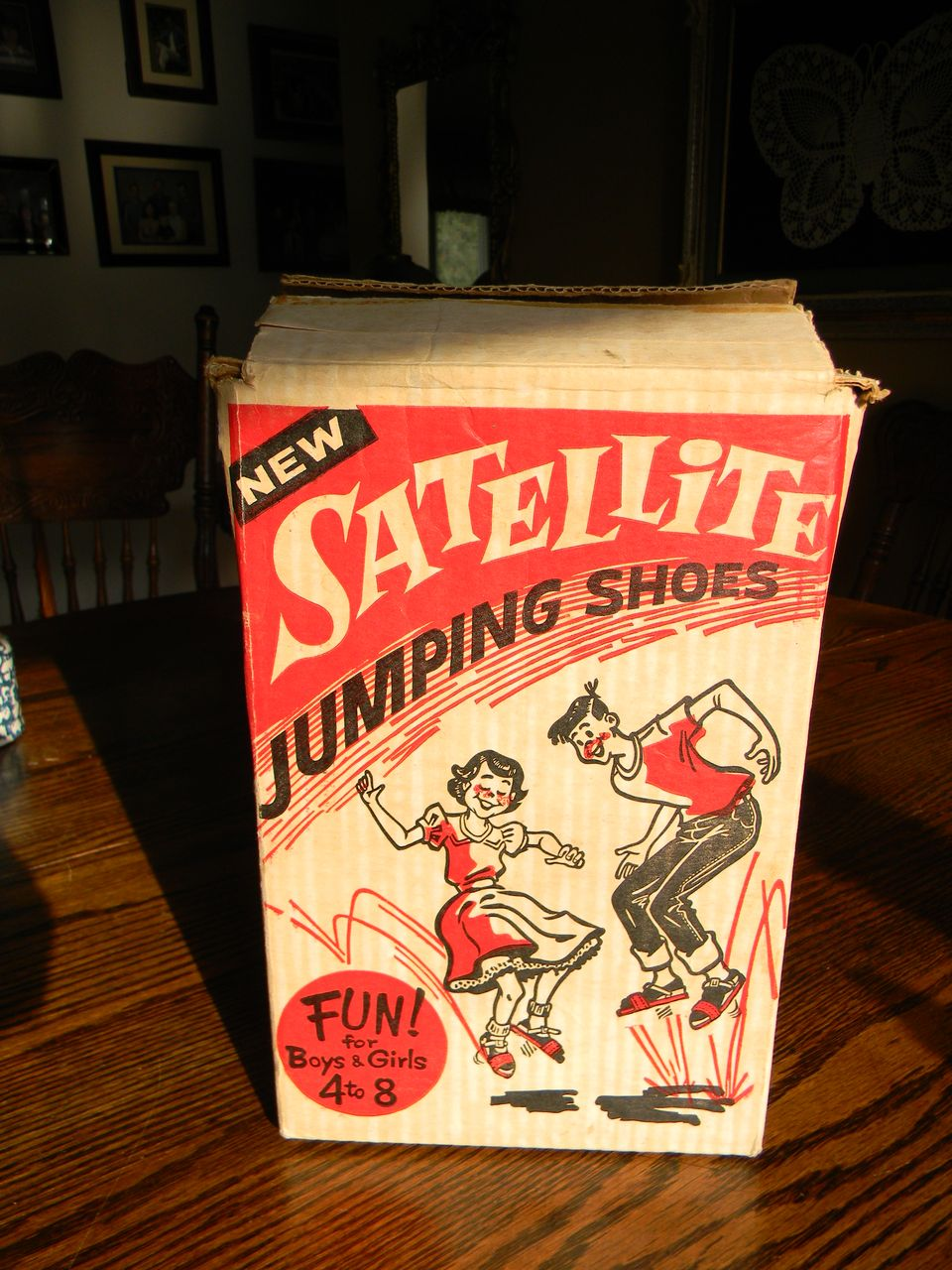 Satellite Jumping Shoes