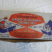 Wester Union Telegraph set
