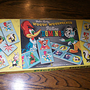 Woody Woodpecker Picture Dominoes