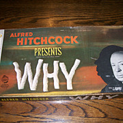 "Alfred Hitchcock Prresents ""Why""  Board Game"