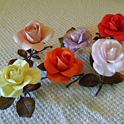 Boehm Roses of Distinction Sculpture Collection/Special Price