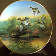 Green Wings at the Morning Marsh Ducks Unlimited Classic Waterfowl Plate Series