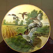 Pintails in Indian Summer Ducks Unlimited Classic Waterfowl Plate Series