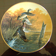 Wood Ducks Taking Flight Ducks Unlimited Classic Waterfowl Plate Series
