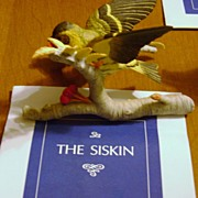 REDUCED SISKEN Figurine from Franklin Mint & RSPB