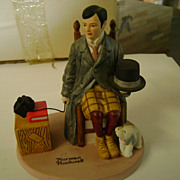 Norman Rockwell Porcelain Figurines Collection  Self Portrait