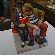 Norman Rockwell Porcelain Figurines Collection  The Interloper