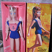 SOLD Blonde Bend Leg Skipper Doll with Box and Accessories