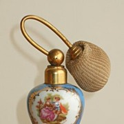 Vintage Porcelaine Vernay, Limoges France Perfume Bottle, Signed
