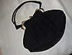 Vintage Guild Original Handbag & Accessories: Black & Rhinestones