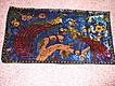 Vintage, Exotic Bird Tapestry Wall Hanging