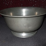 REDUCED Vintage, Large Pewter Bowl W.S. Co. Estate Find