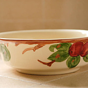 SALE Vintage Franciscan Apple Large Serving Veggie Bowl USA