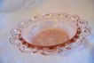 Anchor Hocking  Pink Cereal Bowl, Old Colony Lace Edge