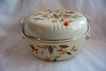 Hall Jewel Tea Autumn Leaf 2 Qt. Round.Casserole 1935