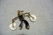 Asian Water Carrier or Bearer Brooch Pin