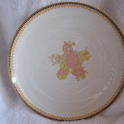 SALE Haviland Limoges TOMATO Plant W/ Gold Trim Plate