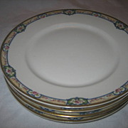 SALE 4 Haviland LIMOGES France Verdun Dinner Plates