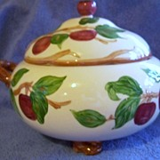 SALE Vintage Franciscan  Red Apple Covered Soup Tureen Mint USA