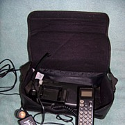 Vintage Motorola Leather Bag Or Caring Car Phone