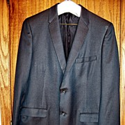 Vintage SSS T.I. Swartz & Sons Suit,  Iridescent Green, Maryland