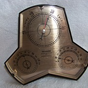 Texaco Barometer By Honeywell