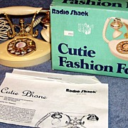 SALE Cutie Fashion Fone, Telephone  Radio Shack 1983  Box