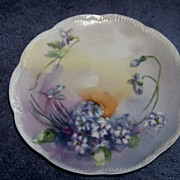SALE Beautiful Limoges Haviland cake plate  6""