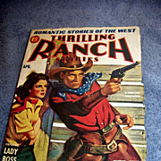 Vintage Romantic Ranch Stories By Different Writers, 1942