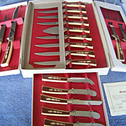 SALE Sheffield Blades Knife Set, 19 Piece Treasure Chest