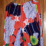 Vintage Daisy's Originals Of Miami,  Woman's Very Large leg pants