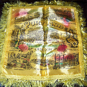 Historical, Portland Oregon The Rose City, Silk Pillow Cover, Souvenir