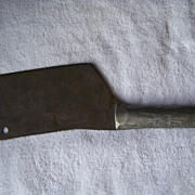 SALE Home Made All Metal Meat Cleaver