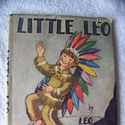 SALE Vintage Little Leo Book By Leo Politi 1951-First  Edition A
