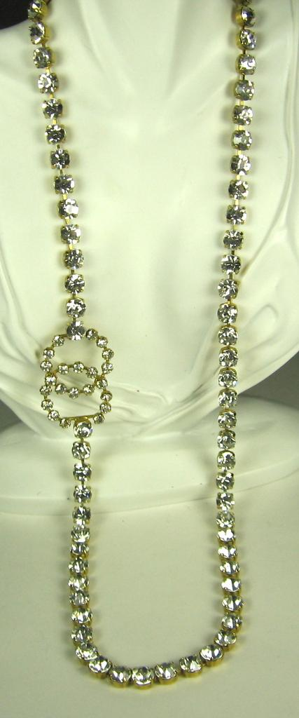 Vintage Chanel Logo Clasp Belt and Necklace from judysgems on Ruby Lane :  antique vintage jewelry vintage chanel logo clasp belt and necklace vintage