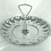 Silver Mint Serving Tray