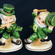 SALE Two Beautiful Vintage Lefton Figurines Perfect Condition