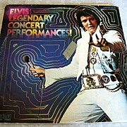 SALE Elvis Legendary Concert Performances 1978 Record Album