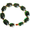 Marvella Inspired Emerald Glass Bracelet